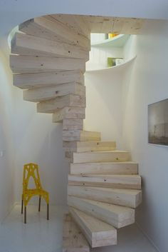 Katydidandkid supplies outdoor spiral stairs that strike the ideal balance between .Katydidandkid supplies outdoor spiral staircases that strike the ideal balance between style and robustness with .Square spiral stairs Small rooms 54 ideas for Loft Staircase, Attic Stairs, Modern Staircase, House Stairs, Spiral Staircases, Staircase Ideas, Spiral Stairs Design, Staircase Design, Building Stairs