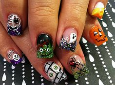 Cool Halloween Nails!