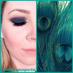 Dark sea green eyeshadows - eyemakeup ideas