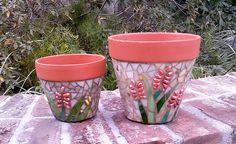 Terracotta pots by GardenDivaDeb, via Flickr