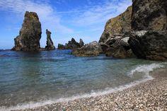 Les Aiguilles de Port Coton Belle Ile en Mer - Morbihan Bretagne Sud
