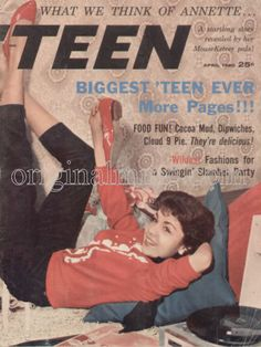 teen magazine from the 50's