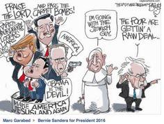 The Pope chooses #BernieSanders