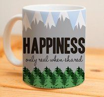 Happines only real when shared