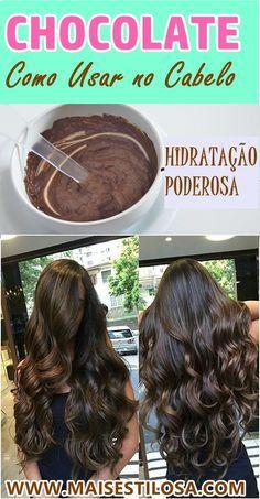 Super Hidratação Caseira de Chocolate
