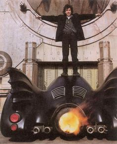 Tim Burton et Batmobile. Batman, 1989