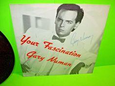 "Gary Numan –  AUTOGRAPHED Your Fascination 7"" Vinyl Record 1985 SynthPop Numa #GaryNuman #SynthPop #Numa #Electronic"