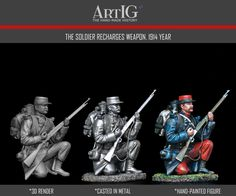 Artig producer of tin soldiers, historical miniatures, toy soldiers 54 mm, figurines, kits of military figures Military Figures, Toy Soldiers, 3d Projects, Joker, French, Movie Posters, Fictional Characters, Art, Craft Art