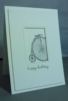 Creatin' and Stampin': A Wheely Nice Card!