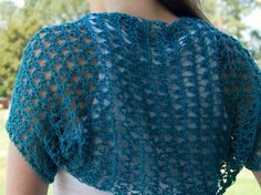 Crochet in Color: Spring Shrug Pattern