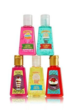 Carnival Collection 5-Pack PocketBac Sanitizers - Anti-Bacterial - Bath & Body Works