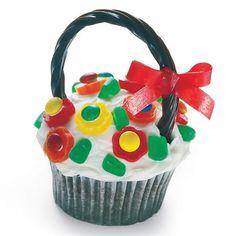 Recipe Flower Basket Cupcake