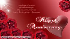 Husband Anniversary Cards for Facebook | Anniversary Ecards For Wife/Husband « Free Cards 4 Dear 1