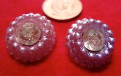 7 Plastic vintage buttons mixed sizes from by ButtonsAndTreasures