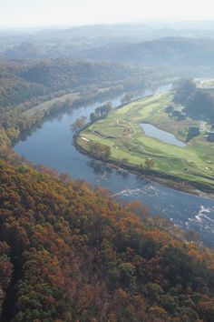 Pete Dye River Course of Virginia Tech....love this course!