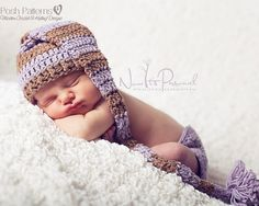 Crochet PATTERN - Baby Pixie Stocking Hat Crochet Hat Pattern - Instant Download PDF 233 - Newborn to Toddler - Photography Prop Pattern on Etsy, $3.99
