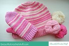 Free Crochet Hat and Mittens Pattern