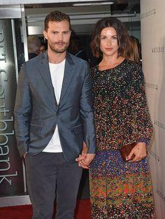 Jamie dornan and his wife Amelia Warner