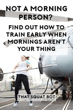 Not a morning person? Nope, me neither! Find out how to get yourself out of bed and into the gym on the occasions it HAS to be done.