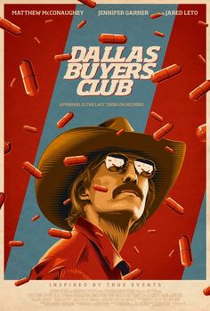 Dallas Buyers Club by Steve Reeves https://www.behance.net/SteveReeves