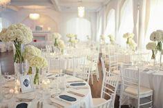 10 Unexpected Ways All White Wedding Reception Can Make Your Life Better All White Wedding, White Wedding Flowers, Dream Wedding, White Weddings, White Flowers, Wedding Themes, Wedding Designs, Wedding Styles, Wedding Ideas