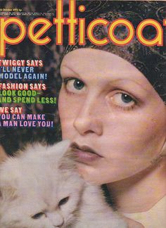 Petticoat magazine 16th October 1971. Twiggy cover and feature | eBay