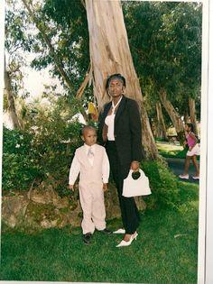 A minha tia e meu bebé mais velho