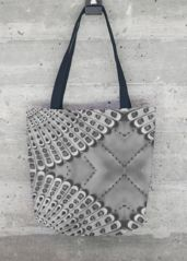 Retro BW tote: What a beautiful product! Printed Tote Bags, Grey And White, Original Artwork, Reusable Tote Bags, Retro, Stylish, Prints, Beautiful, Artist