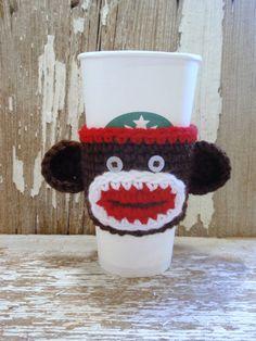 Fun Monkey Coffee Tea Cozy