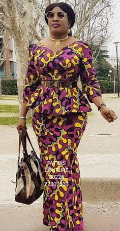 ankara mode Owambe Ankara Skirt And Classic and Superb Ankara skirt and blouse collection for Next Owambe African Fashion Ankara, Latest African Fashion Dresses, African Dresses For Women, African Print Dresses, African Print Fashion, African Attire, Ankara Skirt And Blouse, Ankara Dress Styles, Ankara Rock