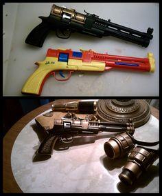 Brass Blaster by CaelynTek.deviantart.com on @DeviantArt