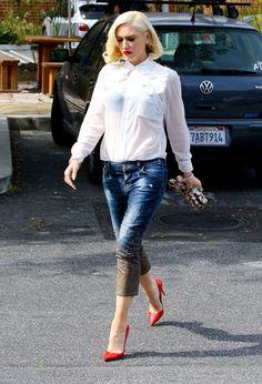 Le look classique revisité de Gwen Stefani
