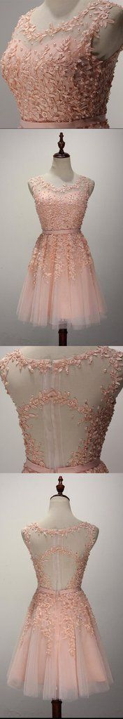 Sexy See Through Lace Homecoming Prom Dresses, Affordable Short Party Prom Dresses, Perfect Homecoming Dresses, CM232