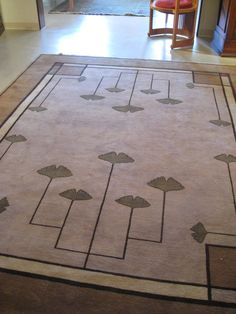 1000 images about frank lloyd wright on pinterest arts and crafts window art and falling waters - Frank lloyd wright rugs ...
