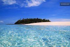 Alone on your own Fiji Island in Nanuku Levu!!!! I want to goooooooooooooooooo!