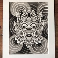 Buddha Tattoo Design, Japan Tattoo Design, Japanese Artwork, Japanese Tattoo Art, Balinese Tattoo, Tibetan Tattoo, Tibet Art, Skull Sketch, Demon Tattoo