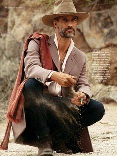 Ben Shaul Stars in the Magnificent Mavericks Editorial #menswear #fashion trendhunter.com