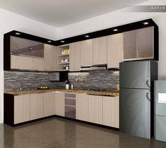 Desain Kitchen Set Aluminium Minimalis Ramekitchen Com
