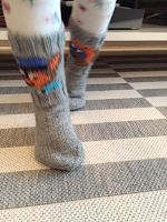 Langanluomaa: Ryhmä Hau -sukat Socks, Knitting, Tricot, Cast On Knitting, Sock, Stricken, Stockings, Crocheting, Knits