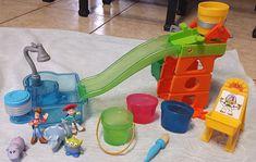 TOY STORY Slide 'n Surprise Playground Playset + 5 Color Change Buddies Figures #Mattel