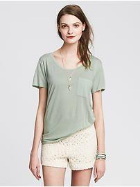 Petite Tops: long-sleeve, short-sleeve, v-neck, cowlneck, tie-neck tops & camisoles in petite sizes | Banana Republic