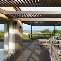 Une terrasse comme une cabane en pleine nature