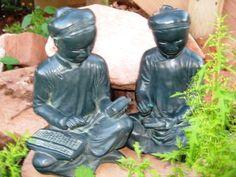 RARE Antique Asian Zen Scholar Student Austin di ChinaGalore, $125.00