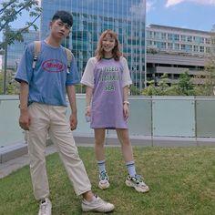 Ulzzang Couple, Ulzzang Girl, Japanese Fashion, Korean Fashion, Teen Web, Teen Images, Web Drama, Aesthetic People, Fashion Couple