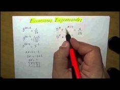 Función Exponencial, gráfico, análisis y ecuaciones.