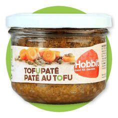 PATE Z TOFU   180 g cena 13,49 zł na www.pureveg.pl  Wyśmienite wegańskie Paté na bazie tofu. Szczególny typ pasztetu dla wegan pieczonego, każdy osobno w słoiczku na bazie pożywnego tofu. Ma świetny, łagodny smak pieczeni i zrównoważonych przypraw, wyraźnie wyczuwalną urozmaiconą strukturę. Bardzo różni się jakością od papkowatych smarowideł znanych ze sklepowych półek. Jest delikatesowym daniem, w którym pamiętano o najlepszych składniach BiO i wysokich walorach odżywczych.
