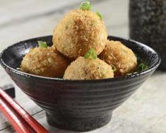 Croquettes légères de pommes de terre et chèvre sans friture : http://www.fourchette-et-bikini.fr/recettes/recettes-minceur/croquettes-legeres-de-pommes-de-terre-et-chevre-sans-friture.html