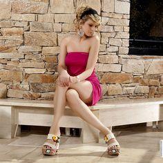 Mules women beige heels 13 cm size 38, online buy Mules woman MODATOI