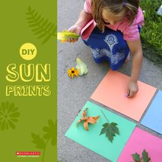 Learn about the sun's ultraviolet rays while making a nature-inspired print!