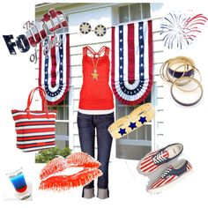 FUNKY FOURTH, created by lilnelson707 on Polyvore